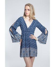 Verano azul Closé Vestido Elyas #moda #azul #vestido