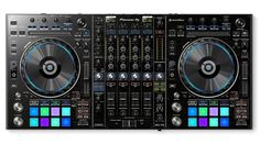 Pioneer DDJ-RZ DJ Controller The Pioneer DDJ-RZ is the latest DJ controller released from the legendary brand Pioneer DJ. This new controller has been exclusively designed to manage the new Pioneer Rekordbox DJ software and is reliable, fast and produces quality sound within any location. Pioneer's DDJ-RZ features a club-quality magnetic crossfader and large jog wheels taken from the industry standard CDJ-2000NXS.
