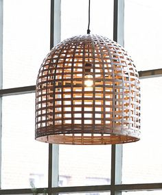 bamboo pendant light by horsfall & wright - chalkboards, lighting & household | notonthehighstreet.com