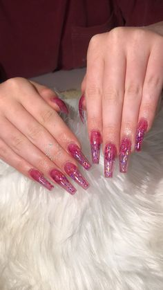 A manicure is a cosmetic elegance therapy for the finger nails and hands. A manicure could deal with just the hands, just the nails, or Fabulous Nails, Gorgeous Nails, Pretty Nails, Aycrlic Nails, Dope Nails, Matte Acrylic Nails, Jelly Nails, Clear Nails, Nail Polish