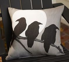 Outdoor Chair Cushions & Outdoor Patio Cushions | Pottery Barn FOR HALLOWEEN!!!