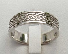 Celtic wedding band. Thinking of this or something similar for the sir.
