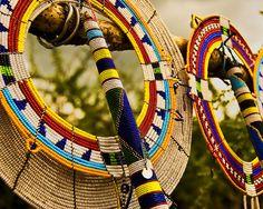 evaixchel:    Colorful Maasai Mara accessories by wandernlust on Flickr.