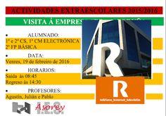CORES DE CAMBADOS: ALUMNOS DO ASOREY VISITARÁN A SEDE DE R EN CORUÑA