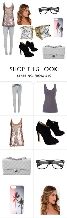 """""""Date Night"""" by victoria-hood8124 ❤ liked on Polyvore featuring beauty, Cheap Monday, maurices, STELLA McCARTNEY, Giuseppe Zanotti, Chanel and Lulu*s"""