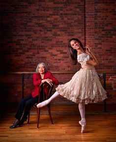 Raven Wilkinson, the first black woman to receive a contract with a major ballet company, the Ballet Russe de Monte Carlo of NYC, and Misty Copeland, the first black female soloist for ABT in over 20 years and first black principal in history. Misty Copeland, La Bayadere, Ballet Images, Ballet Photos, Black Ballerina, American Ballet Theatre, Ballet Theater, Ballet Companies, Ballet Beautiful