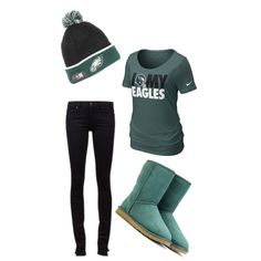 philadelphia eagles outfit - stoppppp I need all of this!