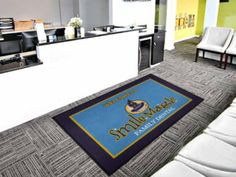 Welcome To Dental Office Logo Rug
