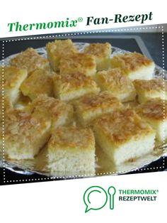 Buttermilch - Blechkuchen von HXENZAUBER. Ein Thermomix ® Rezept aus der Kategorie Backen süß auf www.rezeptwelt.de, der Thermomix ® Community.