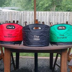 Personalized Party Beverage Cooler