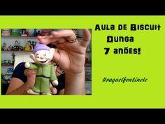 DIY- 7 Anões - Zangado - Biscuit - Raquel Fontinele - Massas BelaGi - YouTube