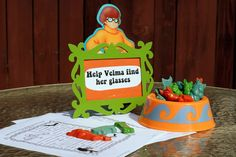 Photo 3 of 66: Scooby Doo / Birthday Help Velma find her glasses in a maze