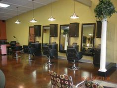 Favorite places spaces on pinterest salon stations for A fresh start beauty salon