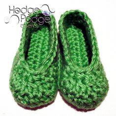 Basic Baby Shoes   HodgePodge Crochet basic shoe