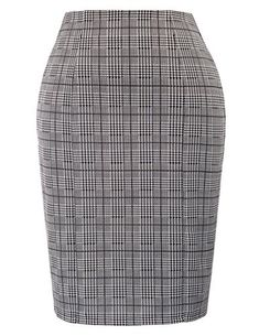 2b58f3f1cb BeingStyle | Kate Kasin Womens Stretchy Office Pencil Skirt Wear to Work  Formal Skirt, Vintage