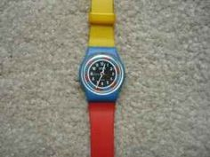 remember the swatch watch?! I had this one. I used to wear more than one at a time, I think I even wore one of my ankle.