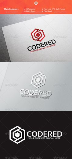 Buy Code Red Logo Template by fitranoor on GraphicRiver. Description : Code Red Logo Template is an excellent logo template suitable for your company. Letterhead Template, Logo Design Template, Brochure Template, Logo Templates, Flyer Template, Logos, Typography Logo, Logo Branding, Lettering