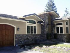 Stucco Exterior Paint Color Schemes beautiful stucco cottage style home. i'd add stone accents