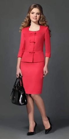 It's very nice to be a woman ! It's very nice to be a woman ! Outfits Damen, Komplette Outfits, Office Outfits, Business Outfit, Business Dresses, Elegantes Outfit Damen, Minimalist Outfit, Classy Suits, Corporate Outfits