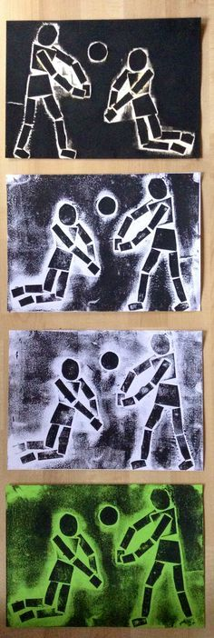 Great idea for proportion. Collagraph Printmaking, 7th Grade Art, Jr Art, Ecole Art, School Art Projects, Middle School Art, Art Lessons Elementary, Art Classroom, Art Plastique