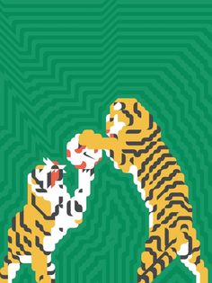 Creative Siggi, Eggertsson, Pitch, Perfect, and Tigers image ideas & inspiration on Designspiration Tiger Images, Pitch Perfect, Pattern Art, Animal Kingdom, Giraffe, Disney Characters, Fictional Characters, Illustration Art, Creatures