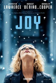 Things are looking up for Jennifer Lawrence in the latest poster for David O. Russell's Joy, a drama that chronicles one woman's life from age 10 to 40 that also stars fellow Russell favorites Bradley Cooper and Robert De Niro. ***SEEN*** 2015 Movies, Hd Movies, Movies To Watch, Movies Online, Movies And Tv Shows, Latest Movies, Movies Free, Joy Movie, Movie Tv