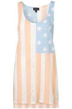 US flag dress