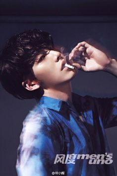 GUY CANDY: Kim Woo Bin is red hot in Men's Uno