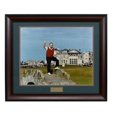 Jack Nicklaus Framed Photograph, Multicolor