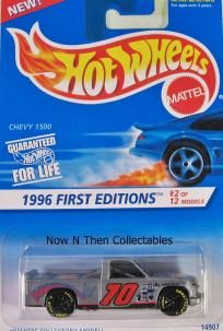 Chevy 1500 1996 First Editions #2 w/Sm Black GY7SP's $2.65    Buy  3 Hot Wheels Receive one free!