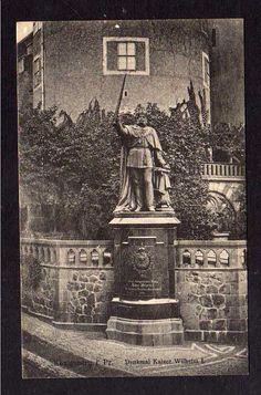 100872 AK Königsberg Pr. Denkmal Kaiser Wilhelm 1923