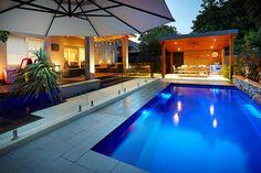 Pool House alternative Design by: Principal Landscapes
