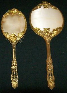 Vintage Hand Mirror beauties