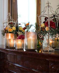 DIY Candles DIY Home DIY Crafts : DIY Glitter Candle Vases