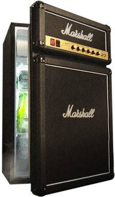 marshall fridge -- http://usa.marshallfridge.com/products/marshall-fridge