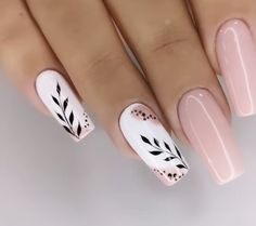 Bling Acrylic Nails, Acrylic Nails Coffin Short, Best Acrylic Nails, Acrylic Nail Designs, Pink Nails, Classy Nails, Stylish Nails, Simple Nails, Trendy Nails