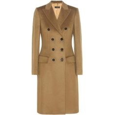 Dolce & Gabbana Cashmere Coat ($6,085) ❤ liked on Polyvore featuring outerwear, coats, coats & jackets, brown, long, long coat, wool cashmere coat, cashmere coat, pure cashmere coat and brown coat