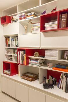 Como organizar com armários abertos