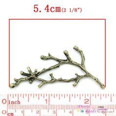 8SEASONS Connectors Findings Branch Antique Bronze 5cm x 2.6cm 6cm x 2.8cm, 10 PCs (B26462),-in Jewelry Findings & Components from Jewelry & Accessories on Aliexpress.com   Alibaba Group