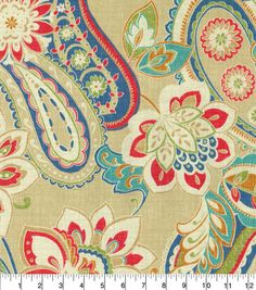 """Waverly Upholstery Fabric 54""""-Wild Card Bluebell"""