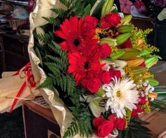 Ramo de flores para regalar en el Sur de Tenerife