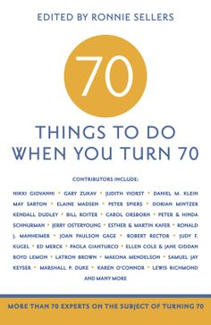 70 Things To Do When You Turn 70th Birthday Party Ideas For Mom