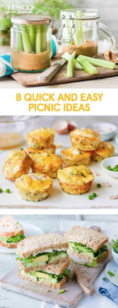 Grab the sunshine with our last-minute picnic food ideas, from sausage rolls and sandwich inspiration to a super-easy falafel recipe. | Tesco