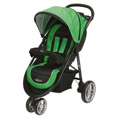 Graco Aire3 Click Connect Stroller in Fern - Overstock™ Shopping - Big Discounts on Graco Strollers