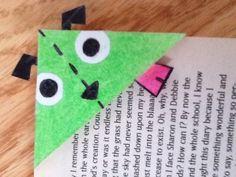 Cutting Corners Bookmark