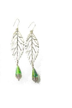 ARIABA CRYSTAL SILVER EARRINGS  #ARIABA  #AfricanFashion #NigerianFashion #BuyNigerian   Available at http://lespacebylpm.com/