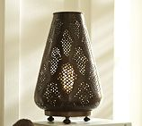 Moroccan Accent Light, Bronze finish