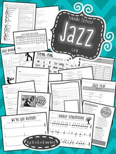 History of Jazz | 5th Grade Music Education | Pinterest ...