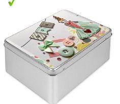 Beautiful Tin Gift Box for Mum