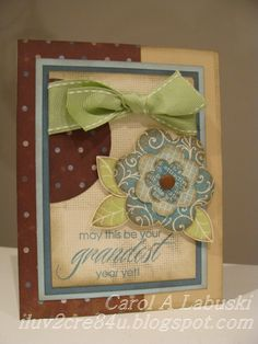CTMH Wonderland & Hooray Bouquet card